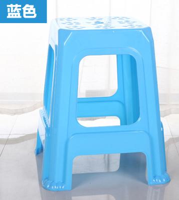 塑料凳子 餐桌凳 加厚熟胶方凳 板凳 成人椅子 高凳 换鞋凳塑胶